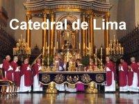 Misa en la Catedral de Lima