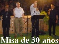 Misa de 30 anos en San Jose Lima