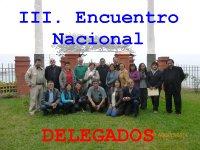 III. Encuentro Nacional de Delegados