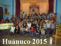 Encuentro Centro 2015 en Huánuco